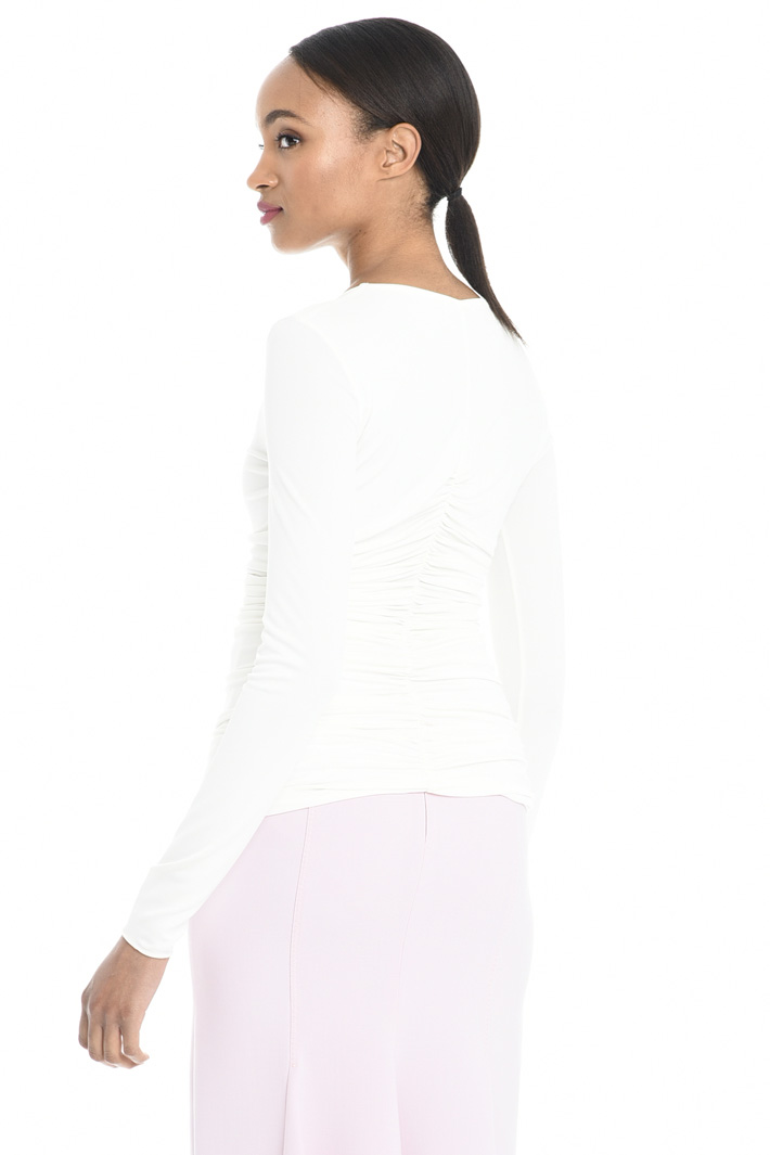 Top in jersey crepe Fashion Market