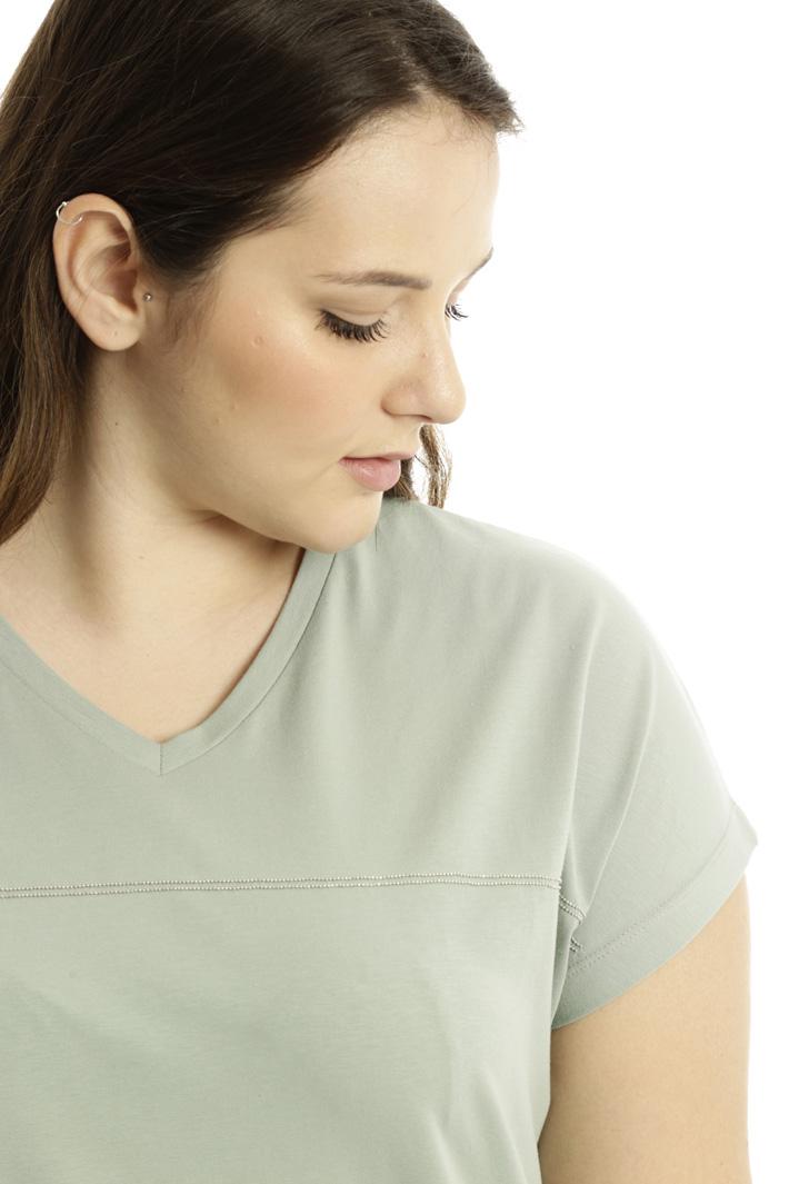 T-shirt con ricamo gioiello Fashion Market