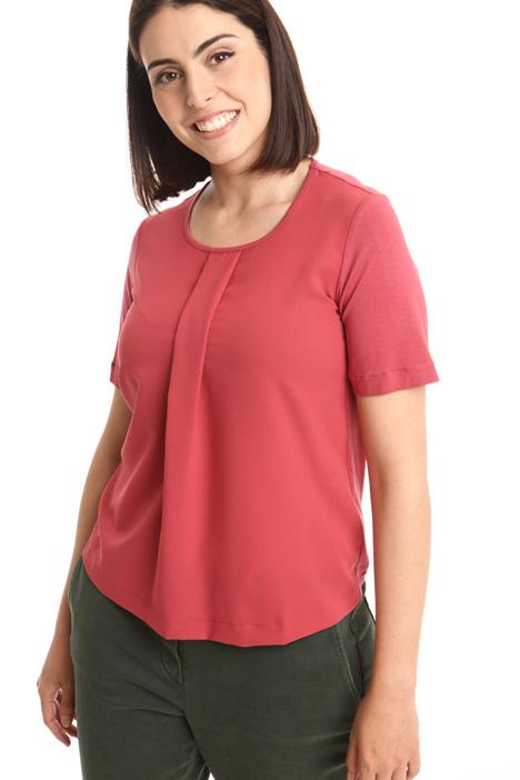 T-shirt con piega decor Fashion Market