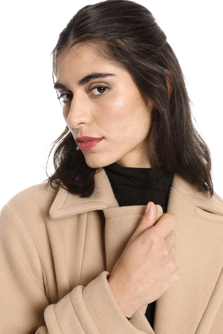 Cappotto con maxi tasche Fashion Market