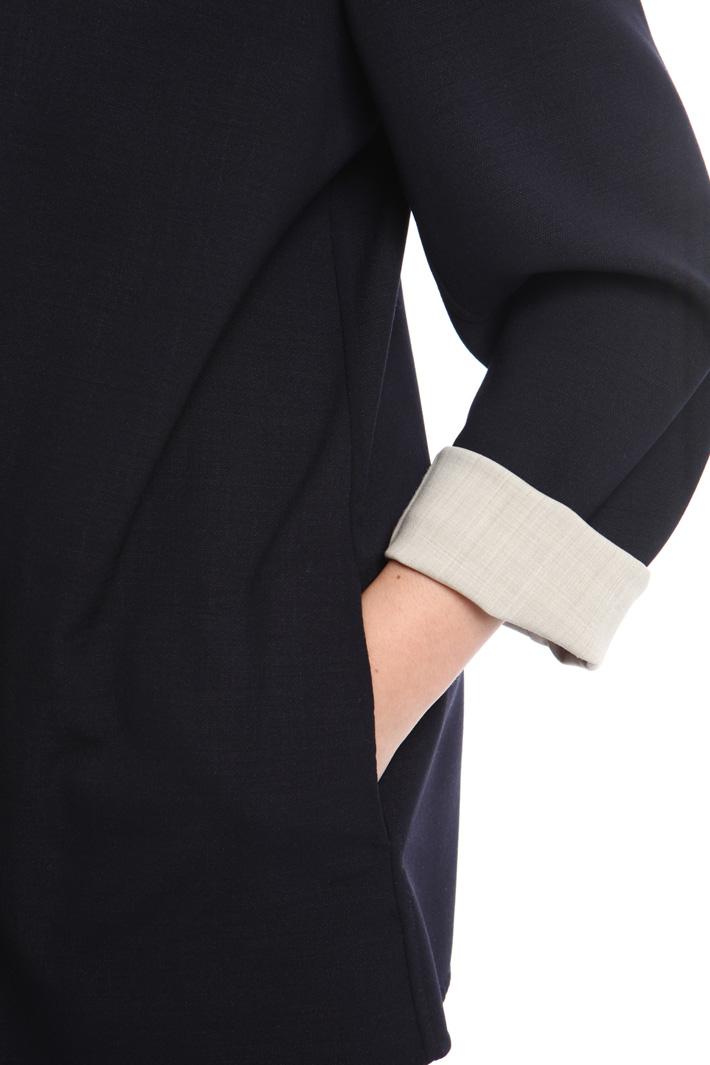Giacca reversibile in crepe Fashion Market