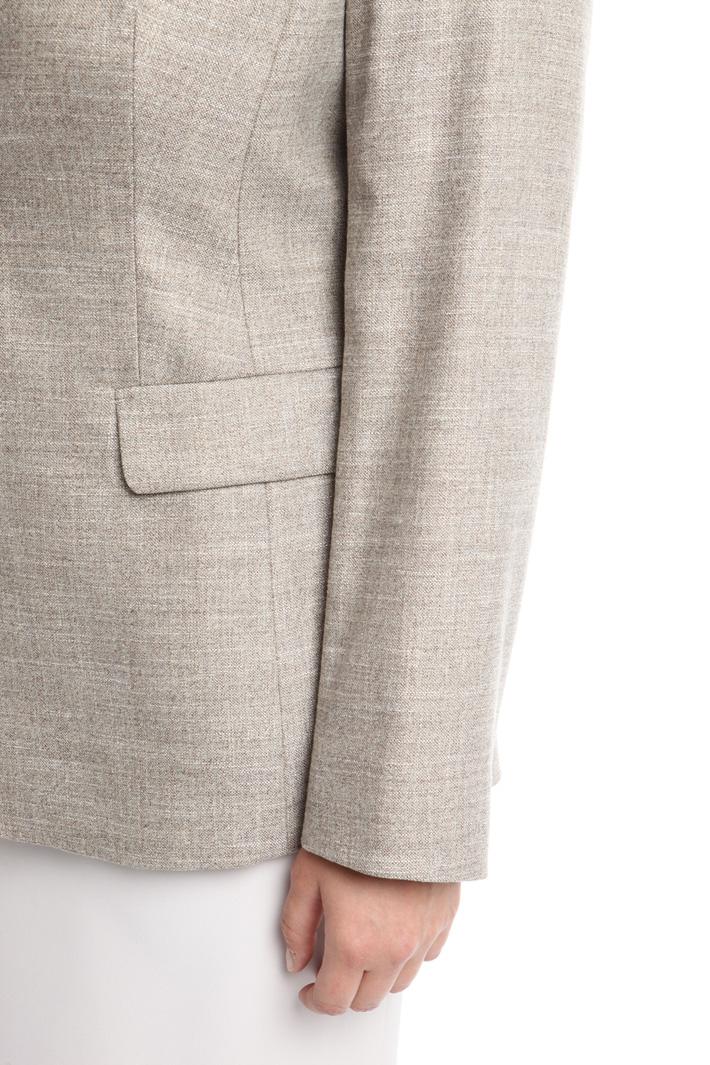 Blazer in tessuto fiammato Fashion Market