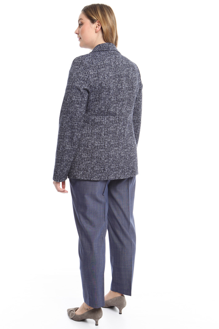 Giacca in jacquard stretch Fashion Market
