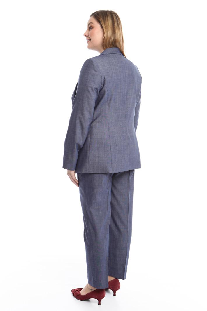 Giacca in tessuto tinto filo Fashion Market
