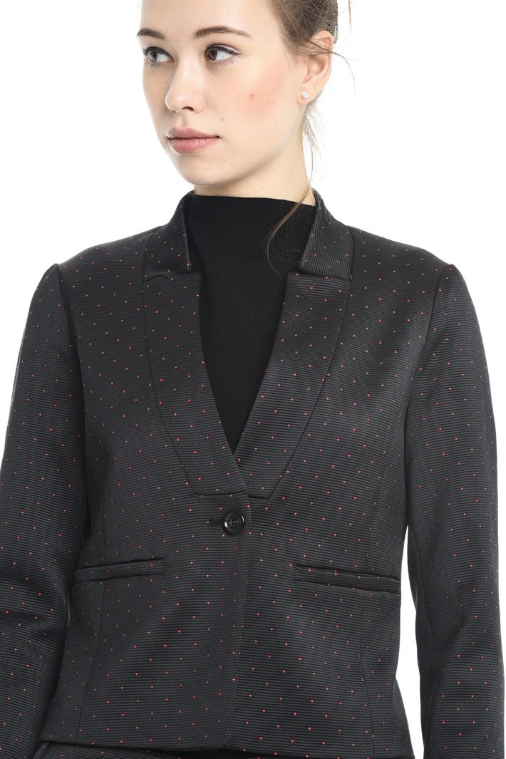 Blazer jacquard misto cotone Fashion Market