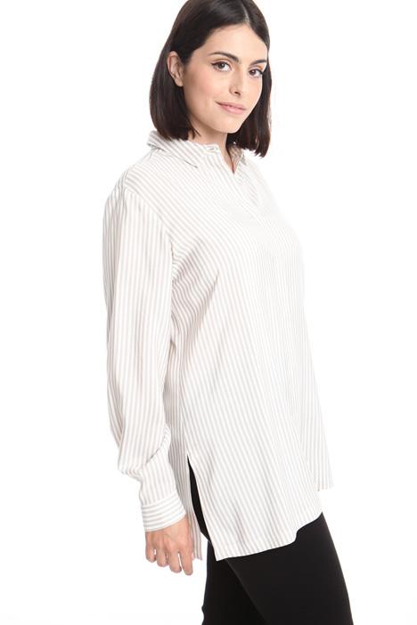 Camicia in popeline di seta Fashion Market