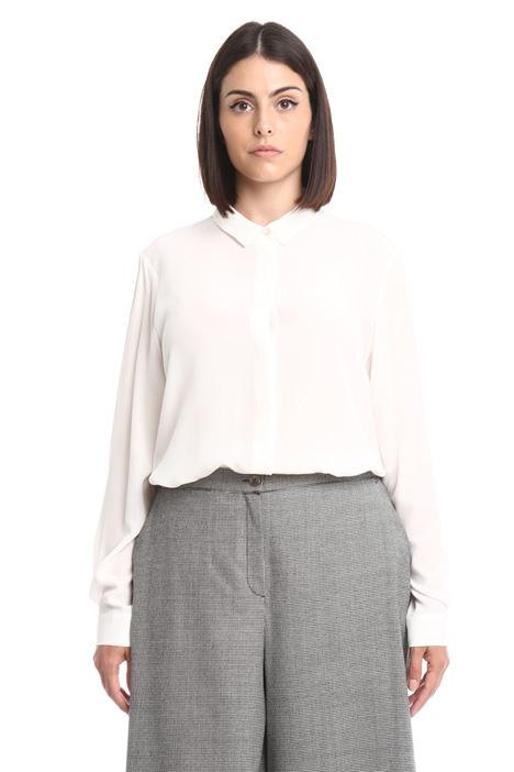 Camicia in seta con fusciacca Fashion Market