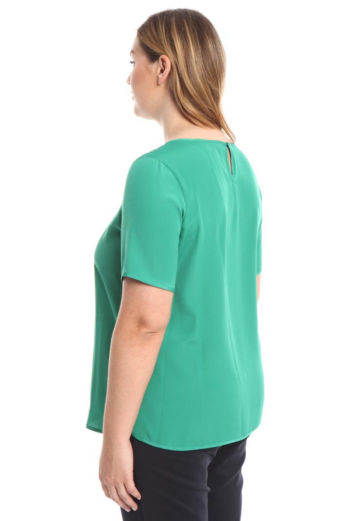 Blusa in crepe de chine Fashion Market