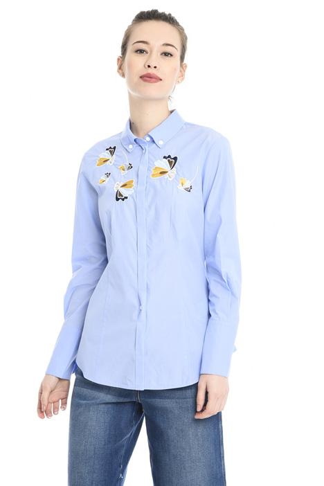 Camicia in cotone con ricamo Fashion Market