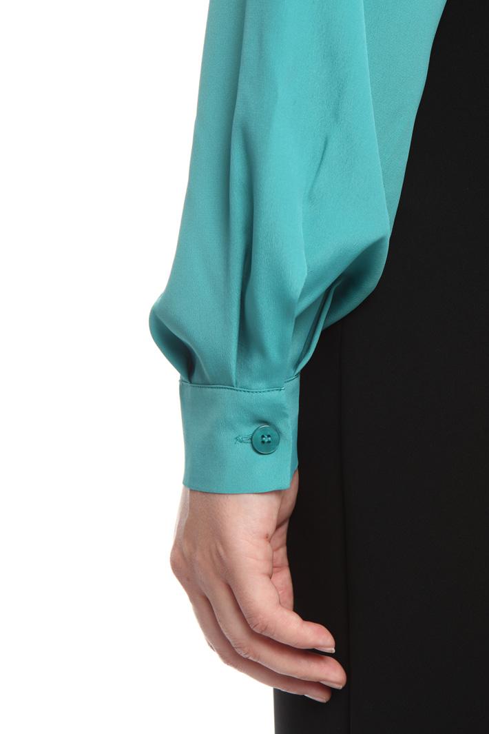 Camicia in tessuto crepe Fashion Market