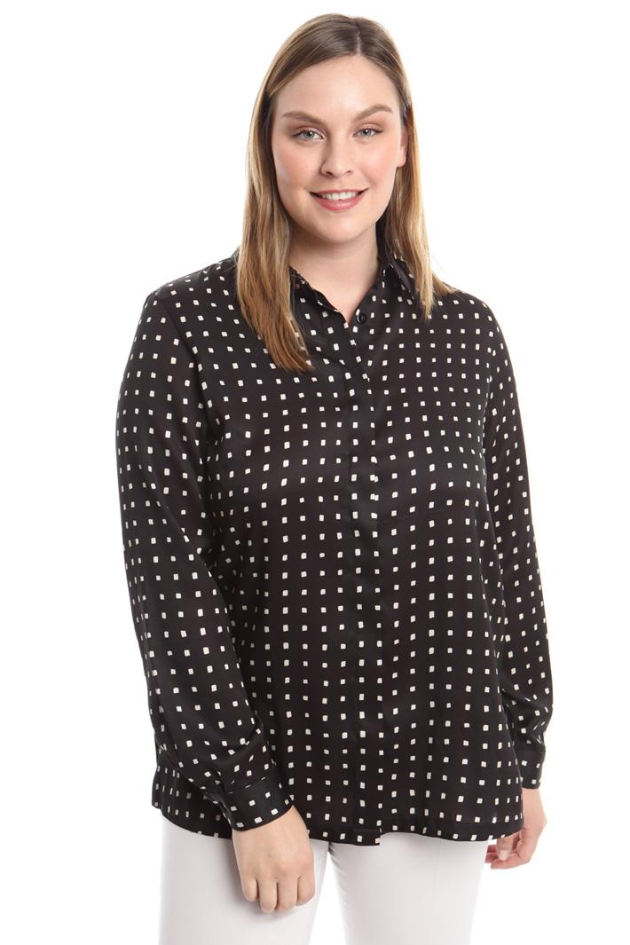 Camicia in twill stampato Fashion Market