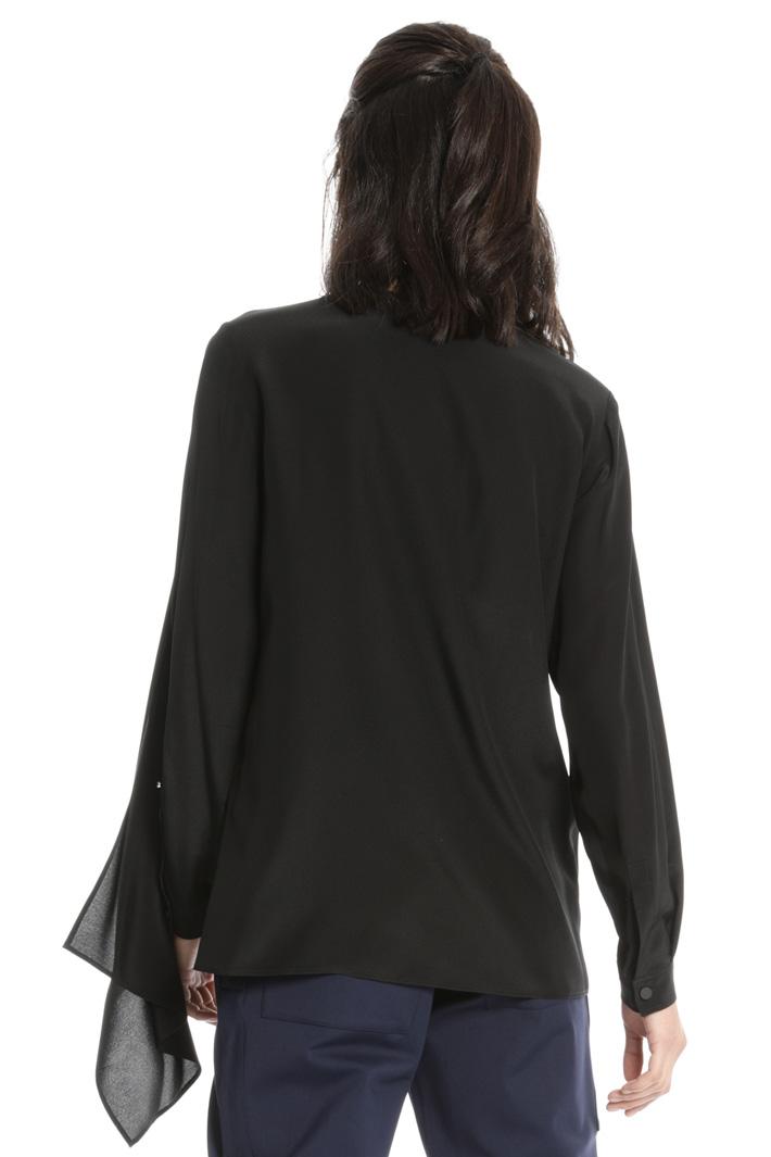 Blusa con pannello sovrapposto Fashion Market