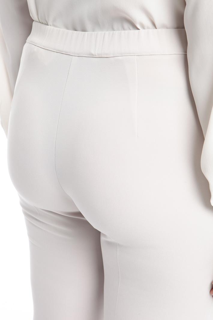 Pantalone lungo con risvolti Fashion Market