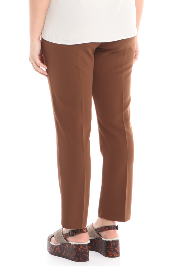 Pantalone dritto in cady Fashion Market