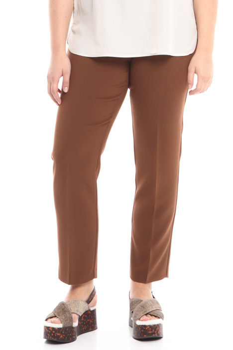 Pantalone dritto in cady Fashion Market