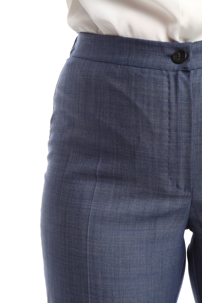 Pantalone tinto filo stretch Fashion Market