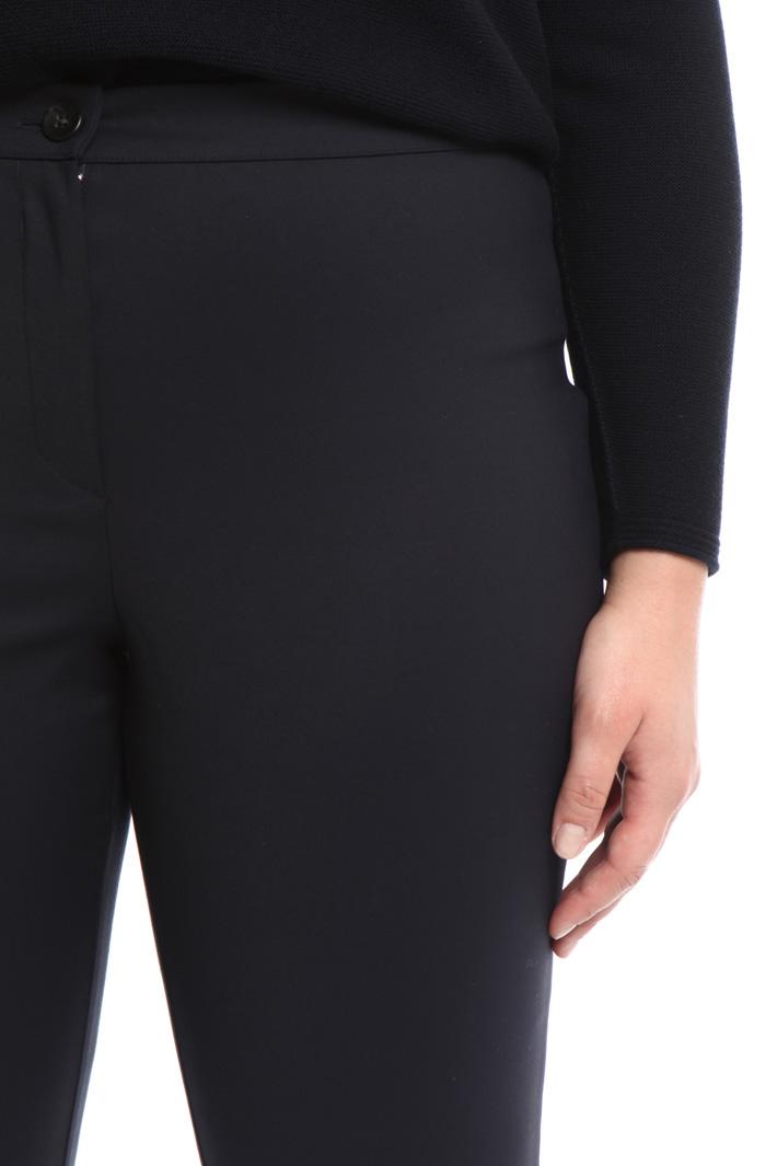 Pantalone in tessuto compatto Fashion Market