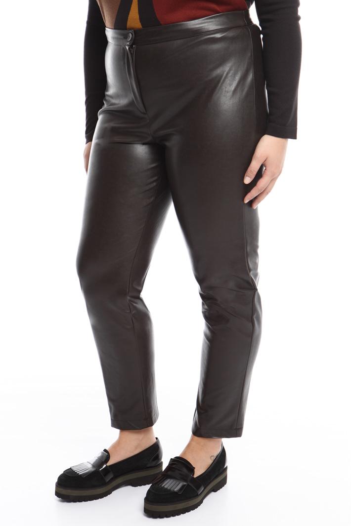 Pantalone in nappa stretch Fashion Market
