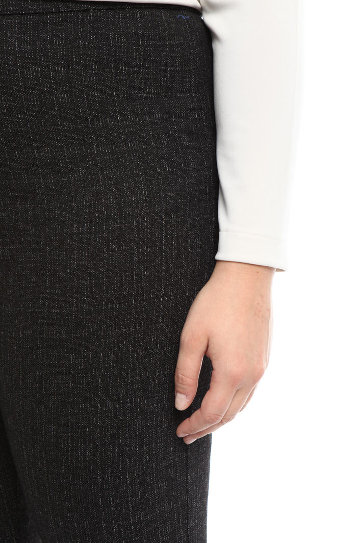 Pantalone aderente jacquard Fashion Market