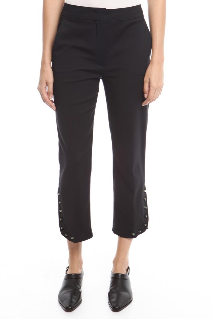 Pantaloni con borchie Fashion Market