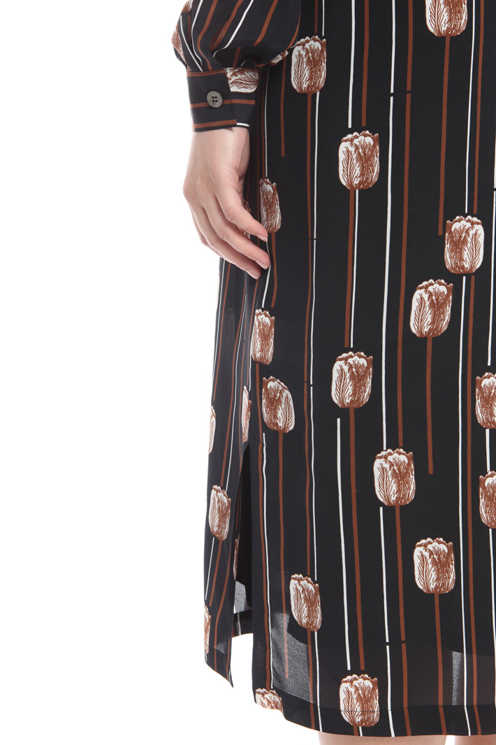 Abito chemisier in seta Fashion Market