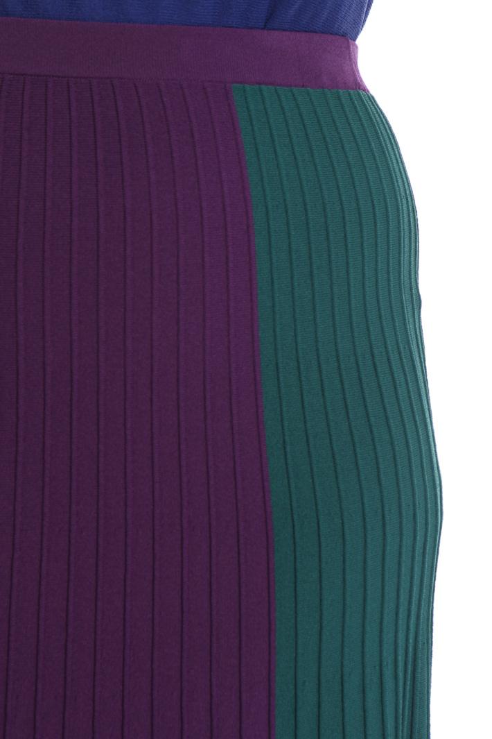 Gonna longuette colorblock Fashion Market