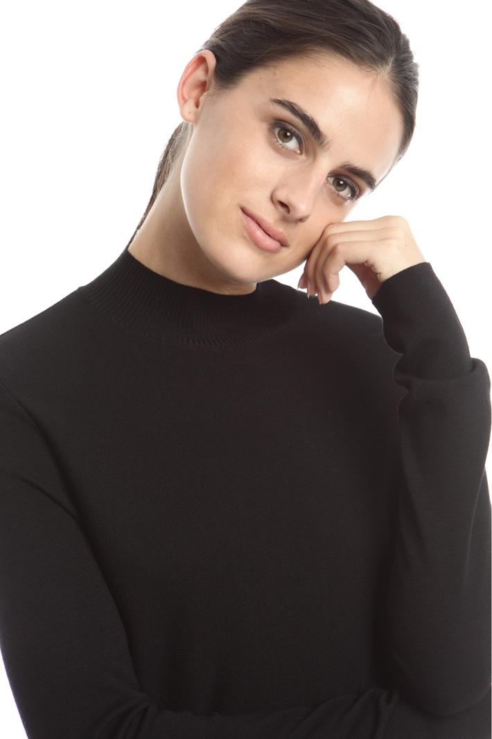 Abito in maglia con lacci Fashion Market