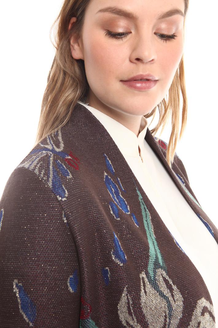 Cardigan fantasia in jacquard Fashion Market