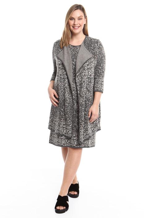 Gilet jacquard in misto lana Fashion Market