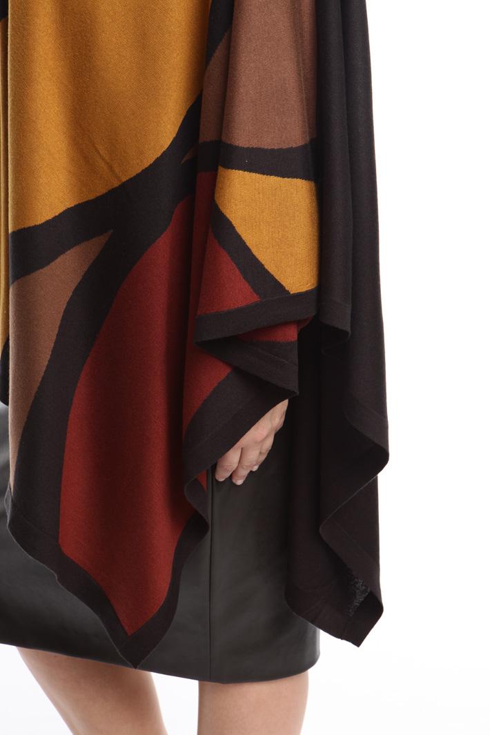 Mantella in seta e cachemire Fashion Market