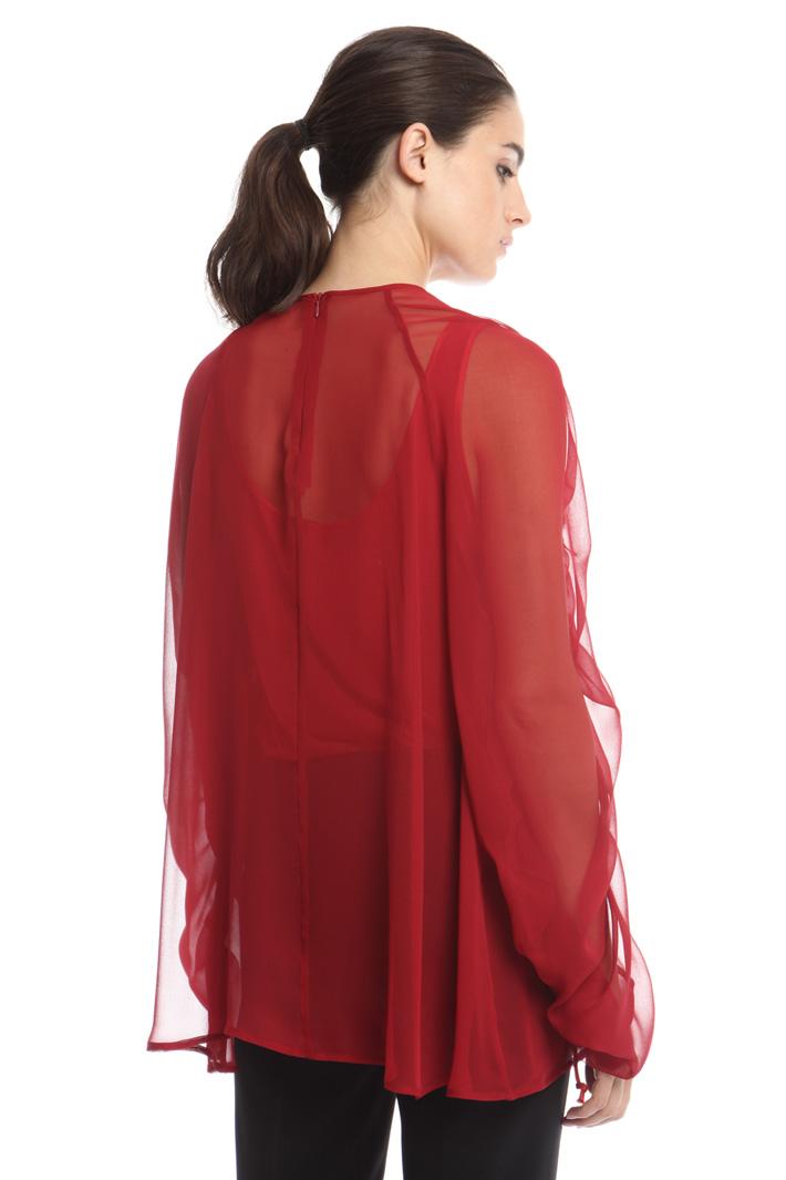 Blusa con top abbinato Fashion Market