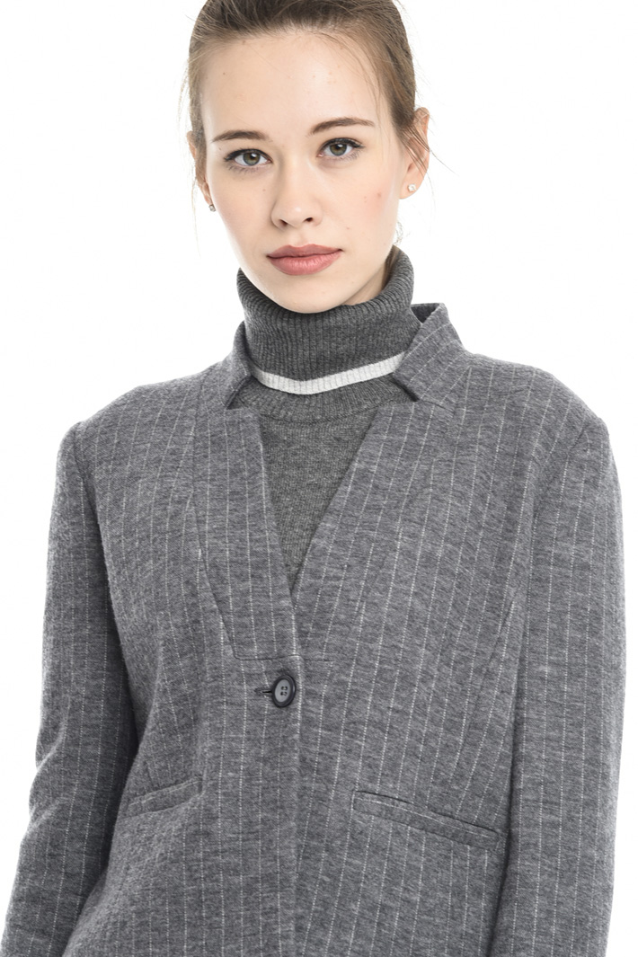 Giacca in jersey di lana Fashion Market