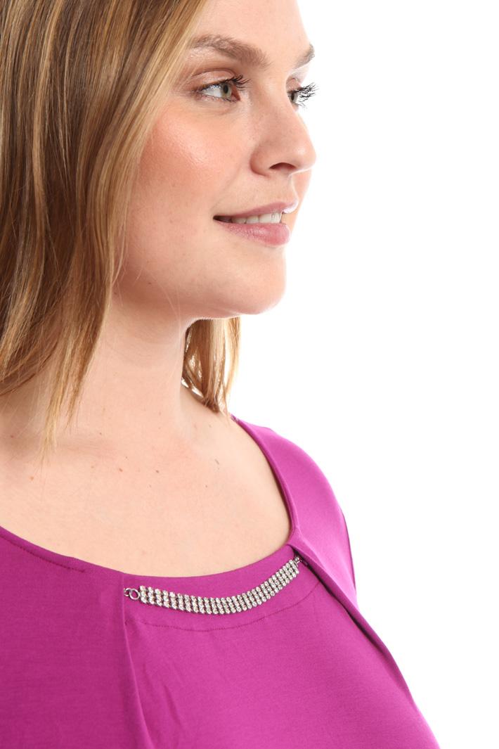 T-shirt con bijoux Fashion Market