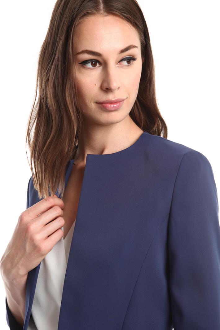 Spencer in tessuto compatto Fashion Market