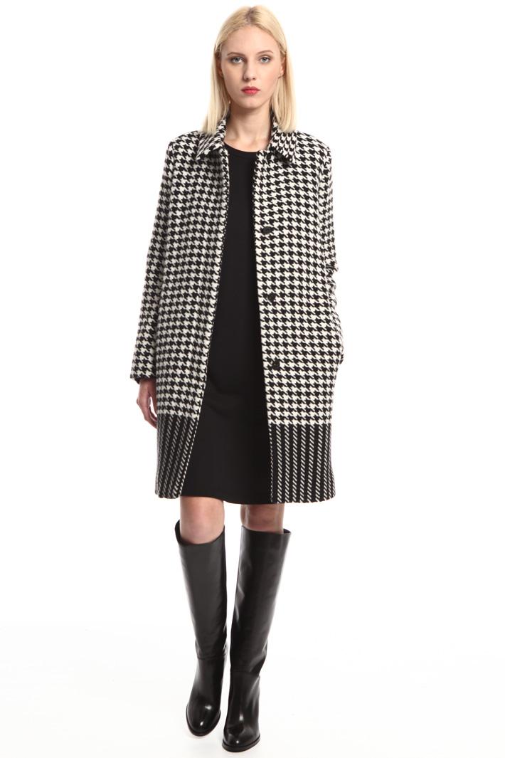 Cappotto piede de poule Fashion Market