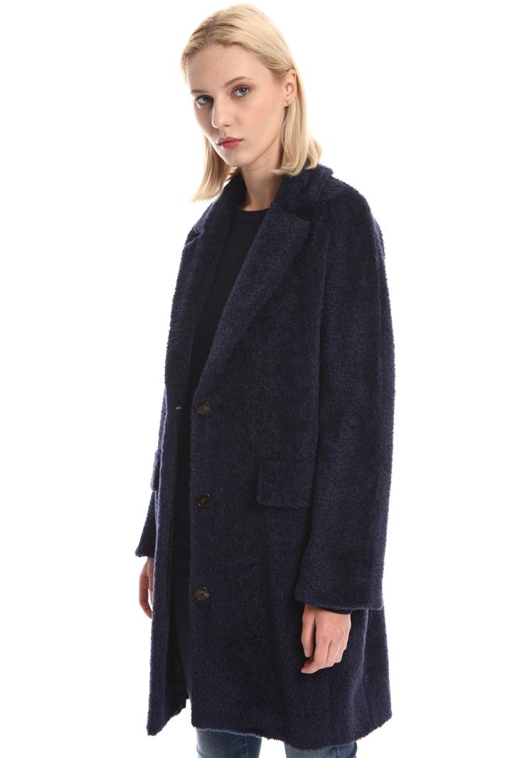 Cappotto in alpaca misto lana Fashion Market