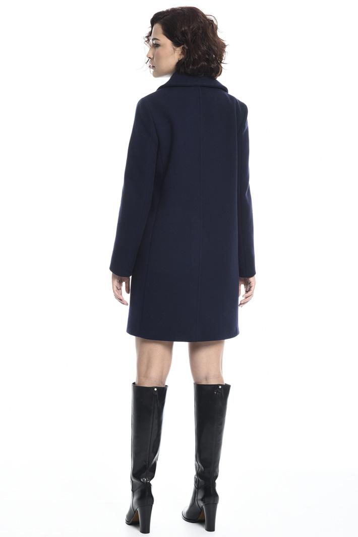 Cappotto doppiopetto in panno Fashion Market