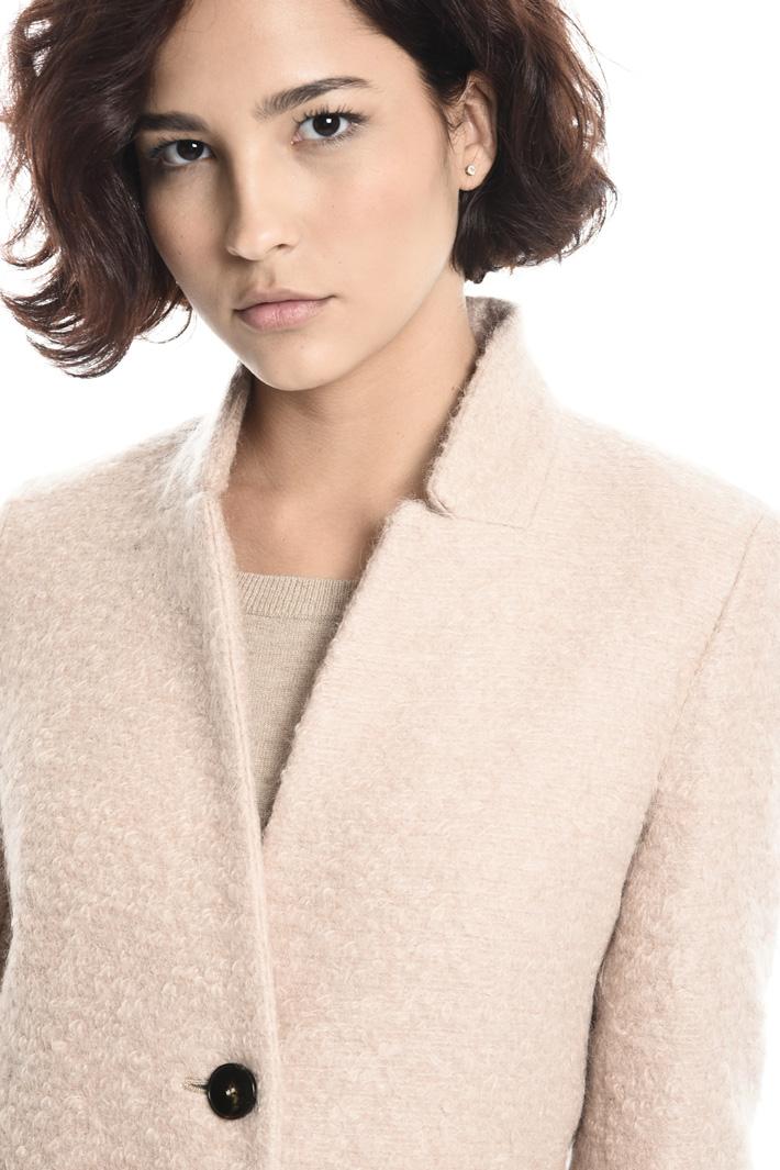 Cappotto in lana bouclé Fashion Market