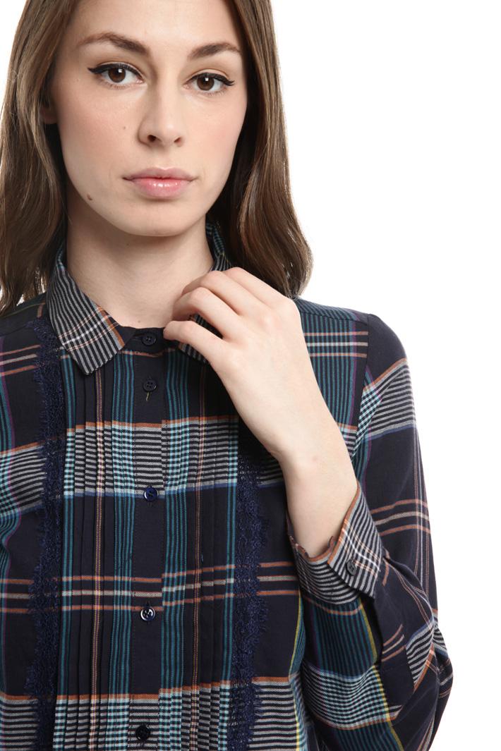 Camicia a motivo check Fashion Market