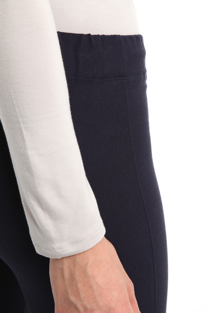 Leggings in gabardina stretch Fashion Market