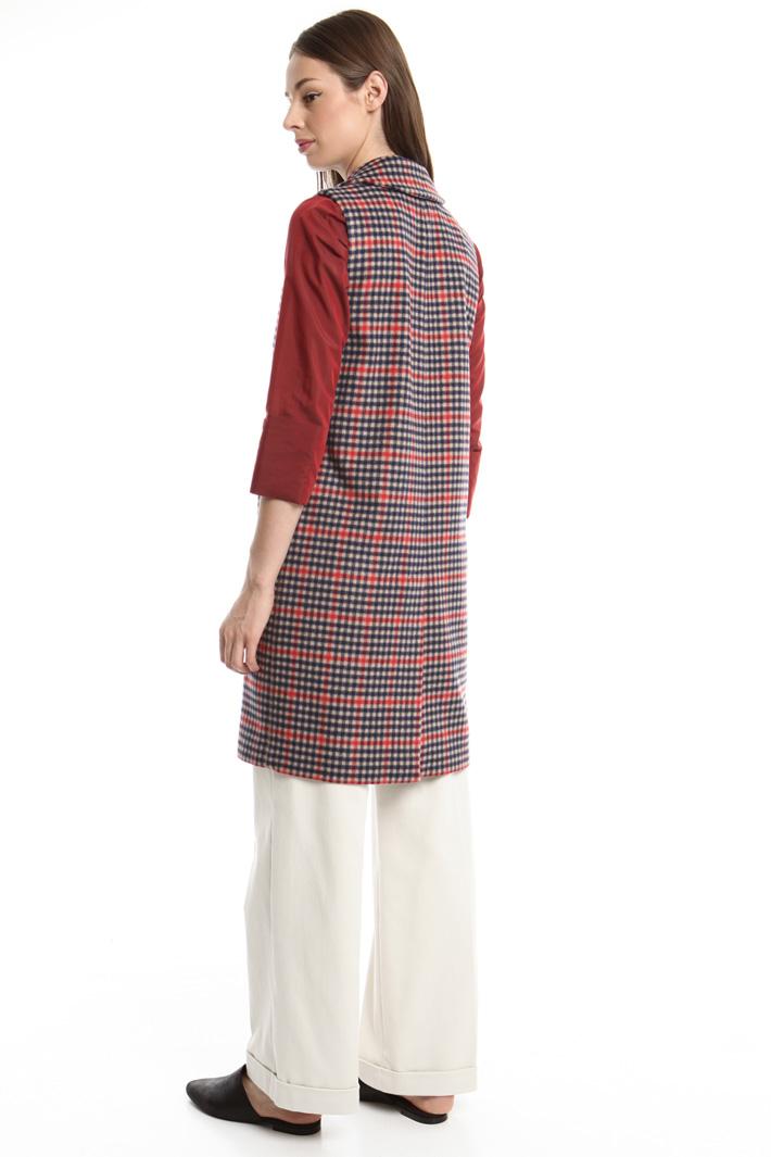 Gilet in misto lana a fantasia Fashion Market
