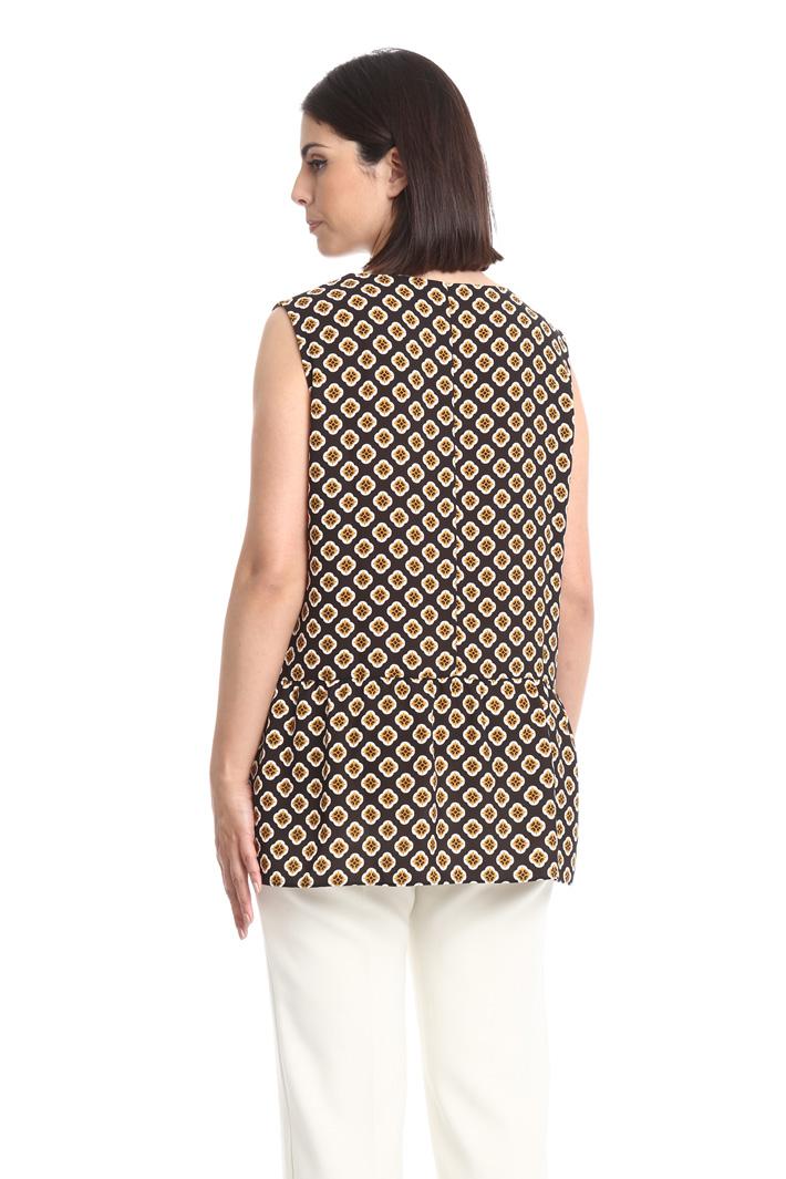 Top fluido con baschina Fashion Market