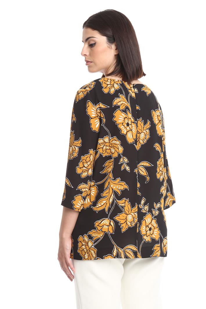 Casacca ampia a fiori Fashion Market