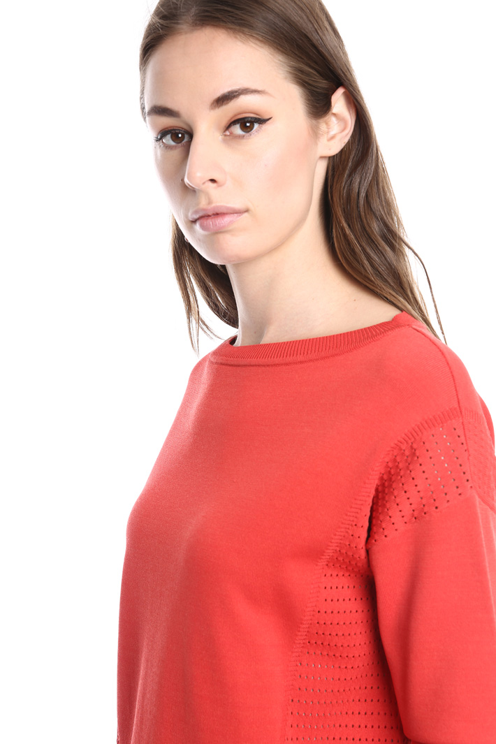 Maglia boxy in viscosa Fashion Market