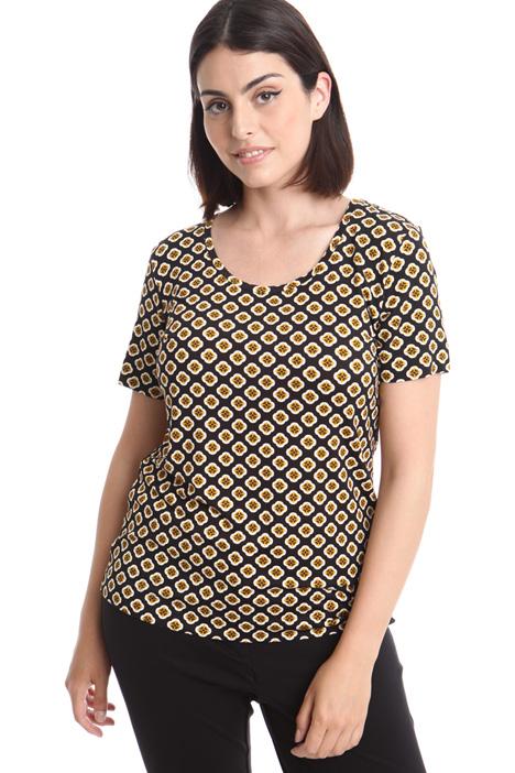 T-shirt in jersey stampata Fashion Market