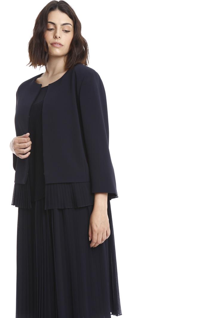 Giacca con balza plissé Fashion Market