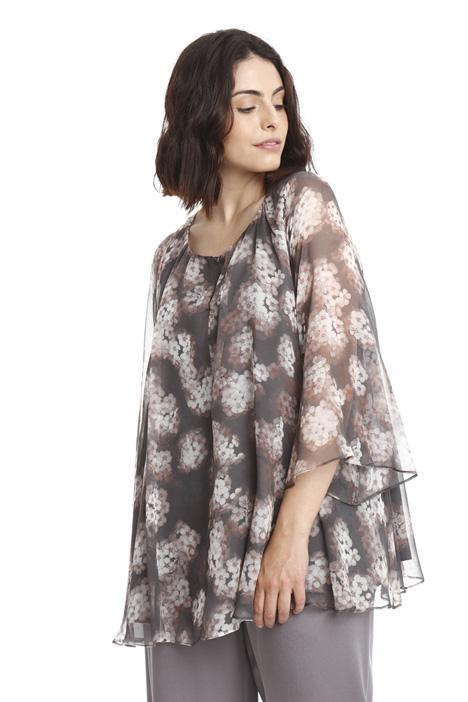 Casacca in chiffon di seta Fashion Market