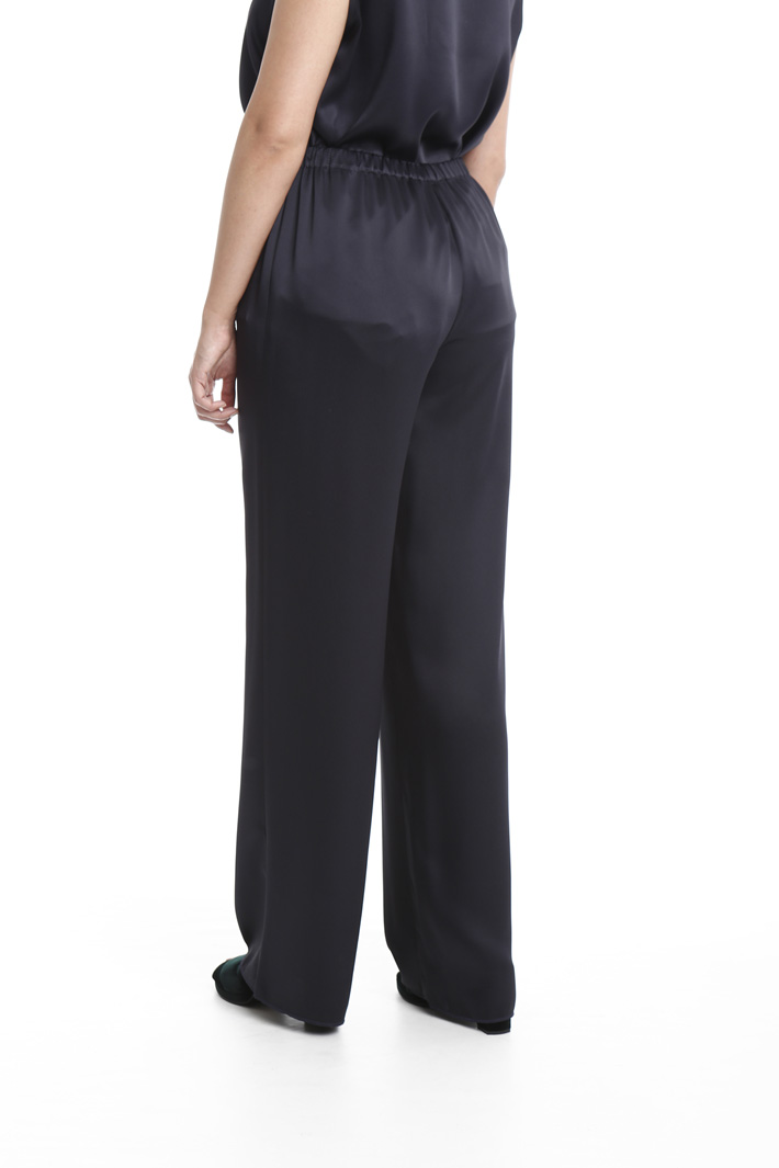 Pantalone palazzo in tessuto Fashion Market