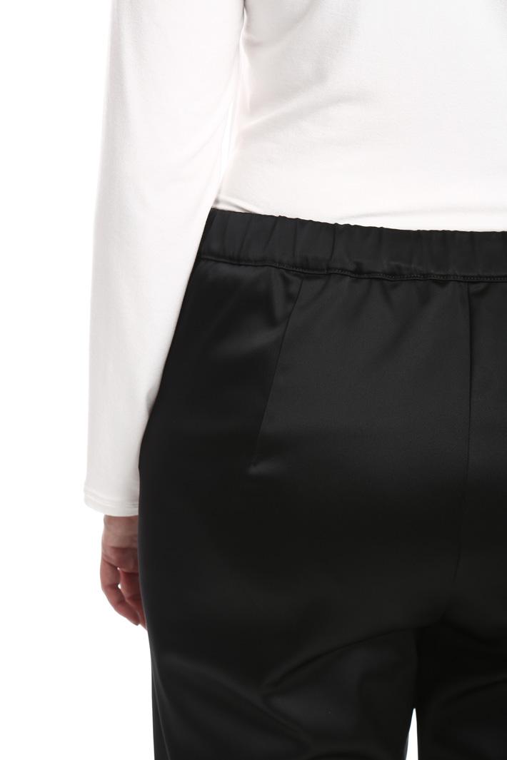 Pantalone in satin stretch Fashion Market