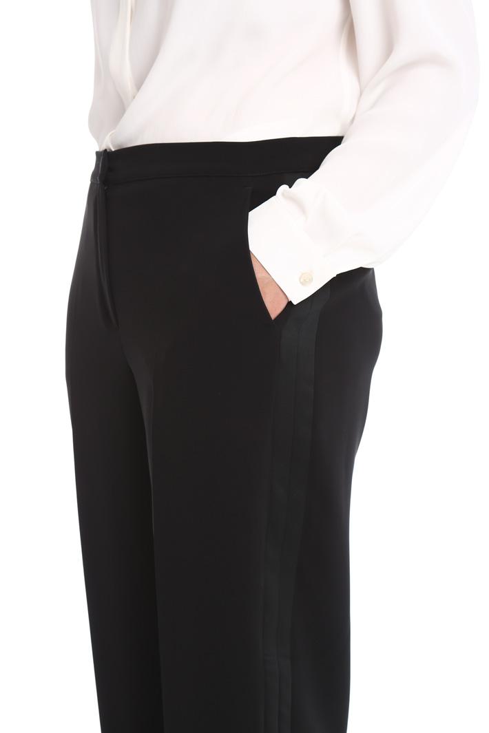 Pantalone in cady linea dritta Fashion Market